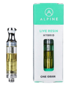 ALPINE Live Resin Vape Cartridge